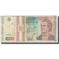 Billet, Roumanie, 1000 Lei, 1993, Mai 1993, KM:106, B - Roumanie