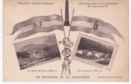 05 Hautes Alpes - Frontière Franco-Italienne - Le Mont Genèvre - Les Clavières - Monument à La Mémoire De Napoléon 1er - France
