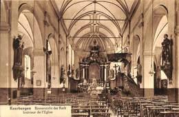 Keerbergen - Binnenzicht Der Kerk (Uitg, Ed. Casteels, 1925) - Keerbergen