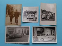 Oude AUTO / Old CAR / VOITURE / CARRO ( Zie / Voir Photo ) 7 Foto's ( Klein Formaat ) ! - Coches