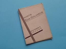Mapje, Formaat 6 X 8,5 Cm. Photo Edg. BAUWENS Anvers ( Zie / Voir Photo ) ! - Matériel & Accessoires
