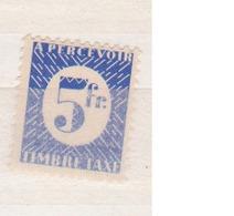 EMISSIONS GENERALES          N°  YVERT    TAXE   35      NEUF AVEC CHARNIERE       ( Ch 2/22 ) - Portomarken