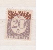 EMISSIONS GENERALES          N°  YVERT    TAXE   37     NEUF AVEC CHARNIERE       ( Ch 2/22 ) - Portomarken