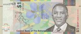 Bahamas - Billet De 1 Dollar - Lynden O. Pindling - 2017 - Neuf - Bahamas