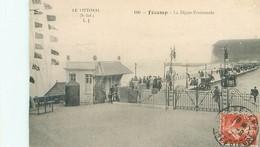 Fecamp - La Digue Promenade   AB 214 - Fécamp