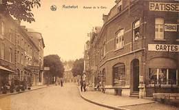 Rochefort - Avenue De La Gare (animée, Imprimerie, Pâtisserie, Cartes Postales,...) - Rochefort