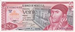 Mexique - Billet De 20 Pesos - 8 Juillet 1977 - Neuf - México