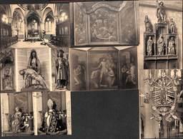 Zout-Leeuw Zoutleeuw - Lot Of 7 PK's (Kerk En Binnenkerk.. Te Zien) - Zoutleeuw