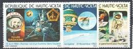 Upper Volta Burkina Faso Complete Space Set Mint Never Hinged ** Montgolfiere - Obervolta (1958-1984)