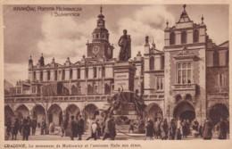 KRAKOW -POMNIK MICKIEWICZA SUKIENNICE - Poland