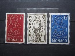VEND BEAUX TIMBRES DE MONACO N° 402 - 404 , XX !!! - Ongebruikt