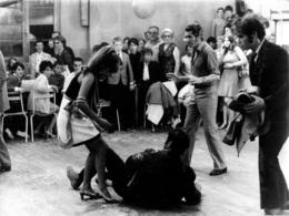 PHOTO DE PRESSE FILM LA TREVE AVEC DANIEL GELIN ET VIRGINIE VIGNON DE CLAUDE GUILLEMOT  PHOTO ORIGINALE 23.50 X 17 CM - Photographs