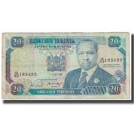 Billet, Kenya, 20 Shillings, 1990, 1990-07-01, KM:25c, B - Kenia