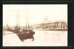 AK Dublin, Ortsansicht Mit Hafen - Dublin