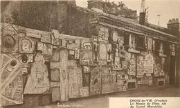 WW 2 Cpa 85 CROIX-DE-VIE. Musée En Plein Air Du Castel Maraichin - Saint Gilles Croix De Vie
