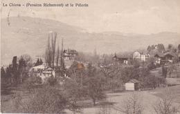 BAC19- LA CHIESA SAINT LEGIER CANTON DE VAUD  PENSION RICHEMONT ET LE PELERIN  CPA CIRCULEE - VD Vaud