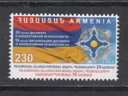 Armenia Armenien 2017 Mi.1039 25th Anniversary Of The Collective Security Treaty - Armenien