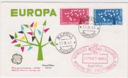 Italy 1962 FDC Europa CEPT (G99-31) - Europa-CEPT