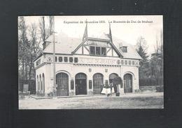 BRUSSEL - EXPOSITION DE BRUXELLES 1910 - LA BRASSERIE DU DUC DE BRABANT - 1910 (12.308) - Universal Exhibitions