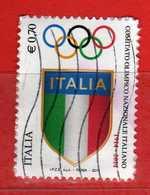 Italia ° -  2014 - CONI .    Usato.    Vedi Descrizione - 6. 1946-.. Repubblica