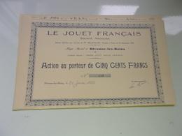 Le Jouet Français (1921) Divonne Les Bains , Ain - Ohne Zuordnung