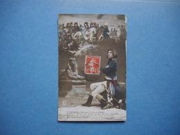 NAPOLEON BONAPARTE  -  Le Sphinx  -  Le Retour De Russie  -  Reconstitition Historique  -  1915 - Politische Und Militärische Männer