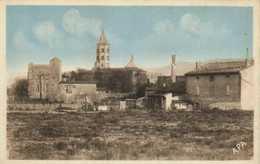 LABRUGUIERE  (Tarn) L' Eglise Et Le Chateau RV - Labruguière
