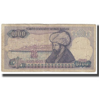 Billet, Turquie, 1000 Lira, KM:196, B - Turquie