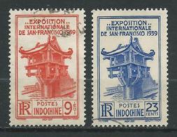 INDOCHINE 1939 . N°s 206 Et 207 . Oblitérés . - Oblitérés