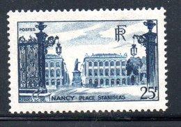 N 822 / 25 Francs Bleu / NEUF* / Côte 14 € - Ungebraucht