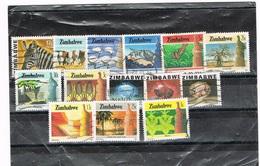 ZIMBABWE : LOTJE GESTEMPELD-OBLITERE - Zimbabwe (1980-...)