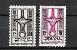 Ghadamès    Poste Aérienne 1949   Cat Yt N° 1 Et 2  N* MLH - Unused Stamps