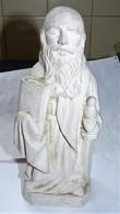 SCULPTURE RELIGIEUSE EN Pierre Reconstituée SAINT PAUL Signée J.L. DELAROCHE TBE - Sculptures
