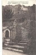 ARBOIS - 22472 . L'ERMITAGE . CARTE AFFR AU VERSO LE 6-9-1932 . 2 SCANES - Arbois