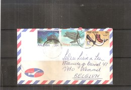 Cover From Malaysia To Belgium (to See) - Malaysia (1964-...)