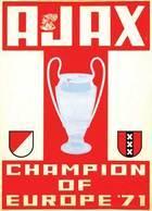 @@@ MAGNET - Ajax Champion Of Europe '71 - Publicitaires