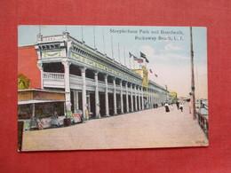Steeplechase Park & Boardwalk  Rockaway Beach  New York > Long Island         Ref 3408 - Long Island