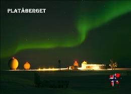 Svalbard Islands Plataberget Northern Lights New Postcard Spitzbergen AK - Norwegen