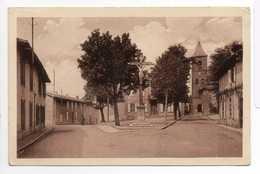 - CPA SAINT-JUERY (81) - Place De La Mairie Et L'Eglise - Photo COMBIER - - France