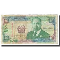 Billet, Kenya, 10 Shillings, 1991, 1991-07-01, KM:24c, B+ - Kenia