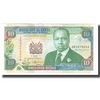 Billet, Kenya, 10 Shillings, 1992, 1992-01-02, KM:24d, TTB+ - Kenya