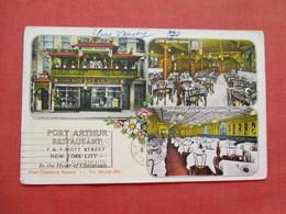 Port Arthur Chinese Restaurant  Chinatown  7 & 9 Mott Street   New York > New York City      Ref 3408 - Manhattan