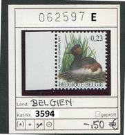 Buzin - Belgien - Belgique - Belgium - Belgie - Michel 3594  - Vögel Oiseaux Birds -  - ** Mnh Neuf Postfris - 1985-.. Vogels (Buzin)