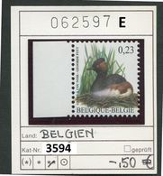 Buzin - Belgien - Belgique - Belgium - Belgie - Michel 3594  - Vögel Oiseaux Birds -  - ** Mnh Neuf Postfris - 1985-.. Pájaros (Buzin)