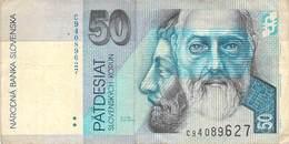 50 Kronen (Korun) Slovenska 2002 VF/F (III) - Eslovenia
