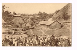 Quai Du Village LOwa. - Congo Belga - Otros