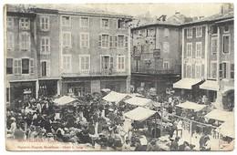 Montélimar Marché Papeterie Chapuis, Montélimar Cliché A. Lang - Montelimar