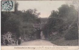 CONFLANS - Passage Du Pont Rustque Du Prieuré - Conflans Saint Honorine