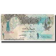 Billet, Qatar, 1 Riyal, KM:20, B - Qatar