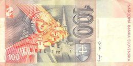 100 Kronen (Korun) Slovenska 2001 VF/F (III) - Slovenia